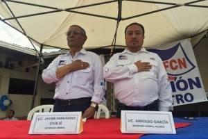 Secretario general y secretario adjunto de FCN-Nación.
