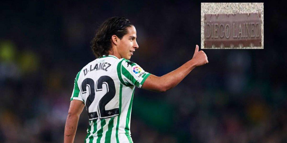 En España ya hay estatua de Diego Lainez