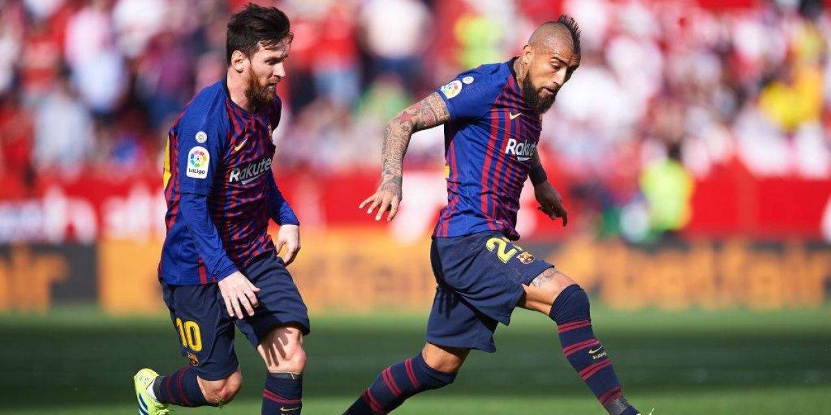Un inspirado Lionel Messi fue el conductor del Barcelona en trabajado triunfo de visita ante el Sevilla