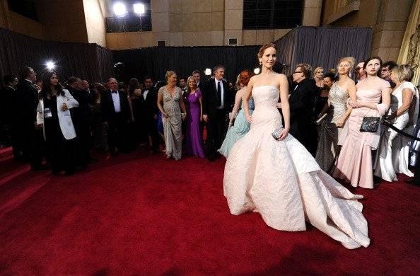 Jennifer Lawrence no Oscar 2013