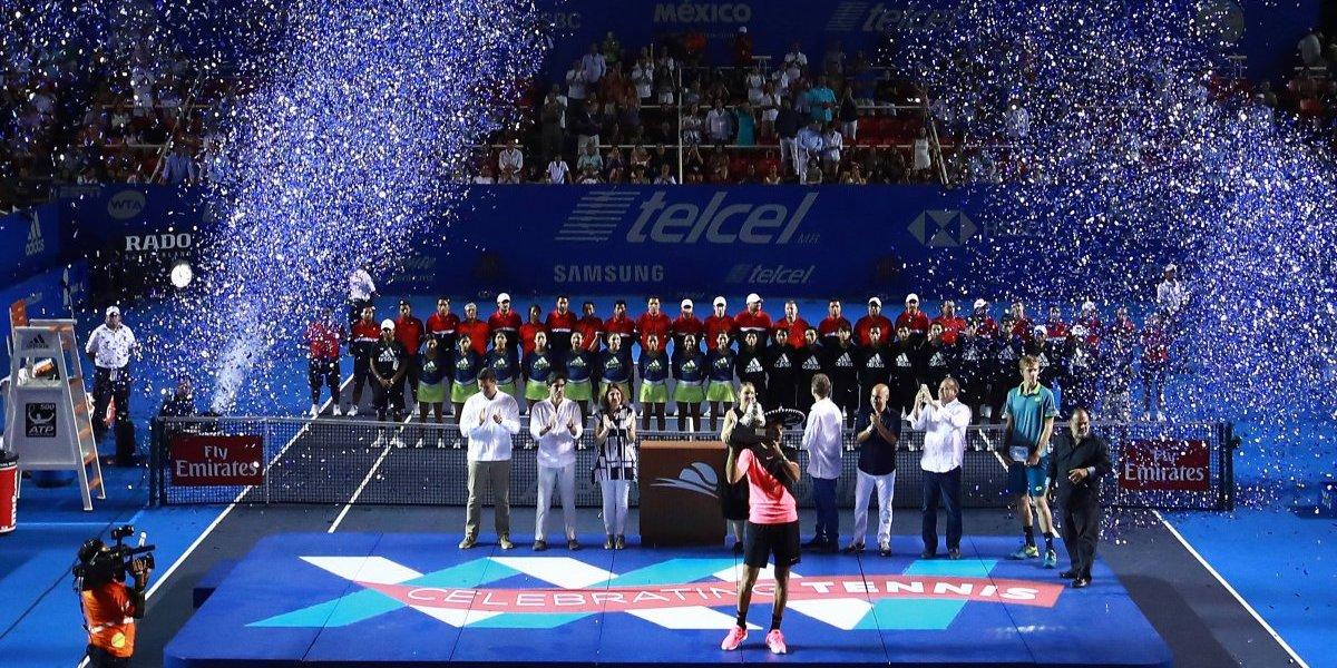 El Abierto Mexicano de Tenis 2019 será una fiesta para toda la familia
