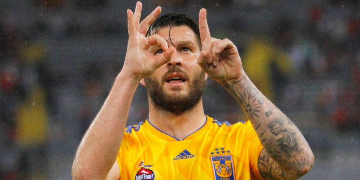 Gignac marca su gol 100 y da triunfo a Tigres sobre Atlas