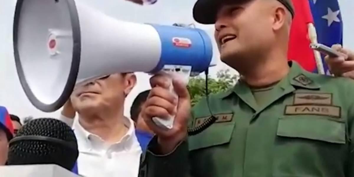 Hugo Parra, mayor del ejército venezolano, se convierte en el quinto militar que deserta del régimen