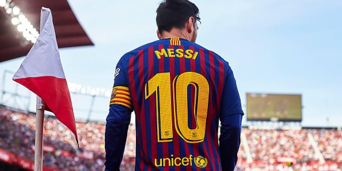 Lionel Messi fue el conductor del Barcelona ante el Sevilla