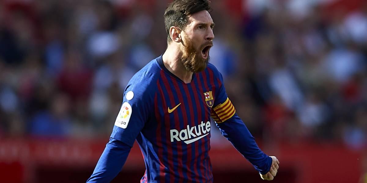 Messi deja de lado su récord para reconocer el trabajo del Barça
