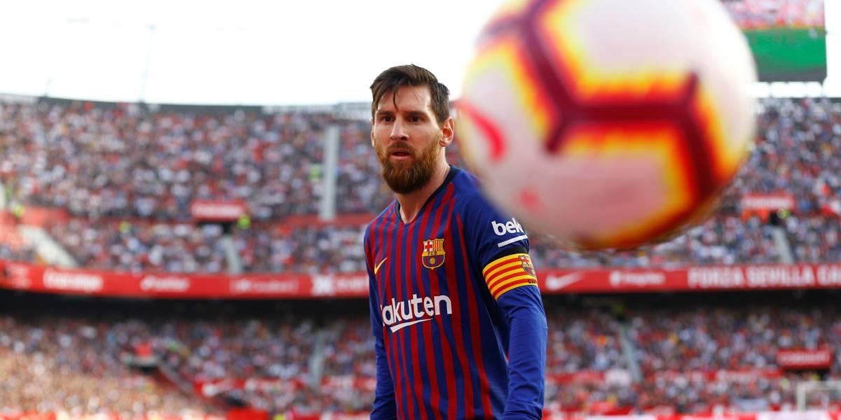 Messi faz três golaços e comanda virada do Barcelona sobre o Sevilla no Espanhol
