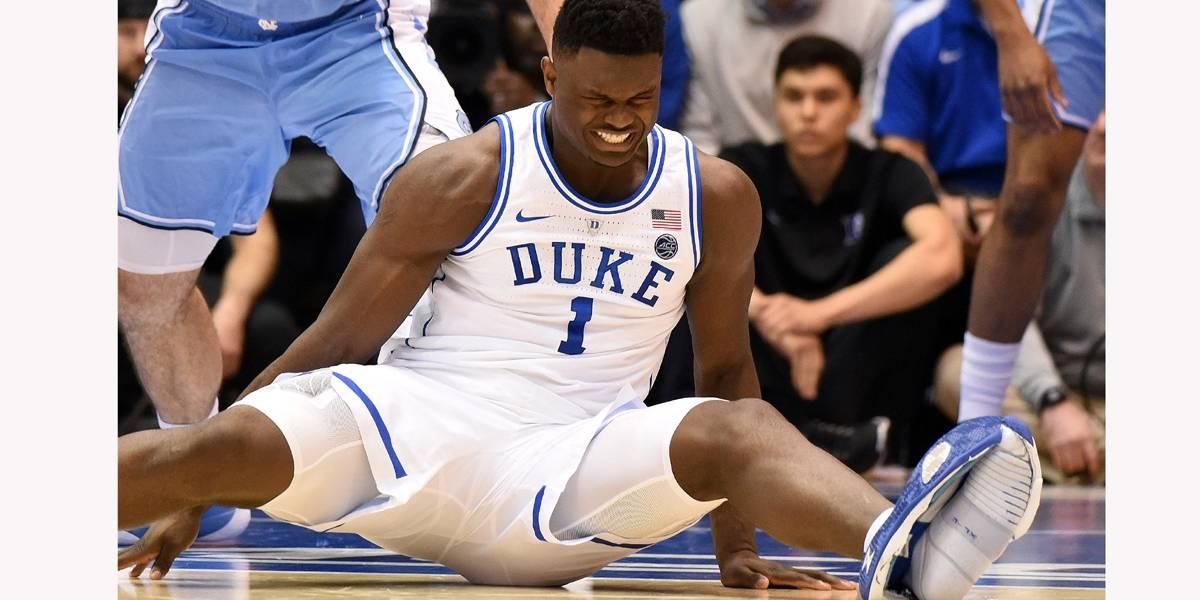 Lesão de astro do basquete universitário põe Nike em xeque