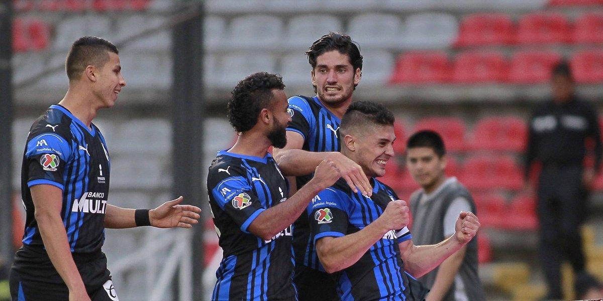 Querétaro consigue su primera victoria del torneo de la mano de Vucetich