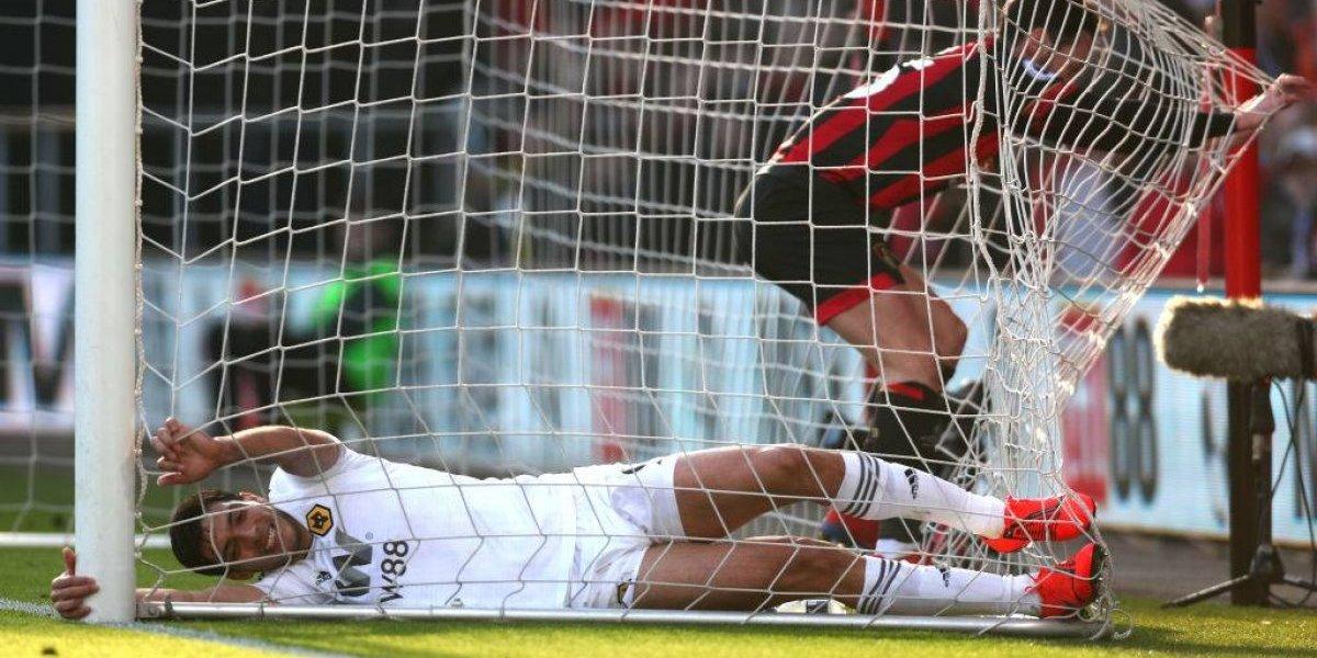 Raúl Jiménez anota y rescata el empate para el Wolverhampton