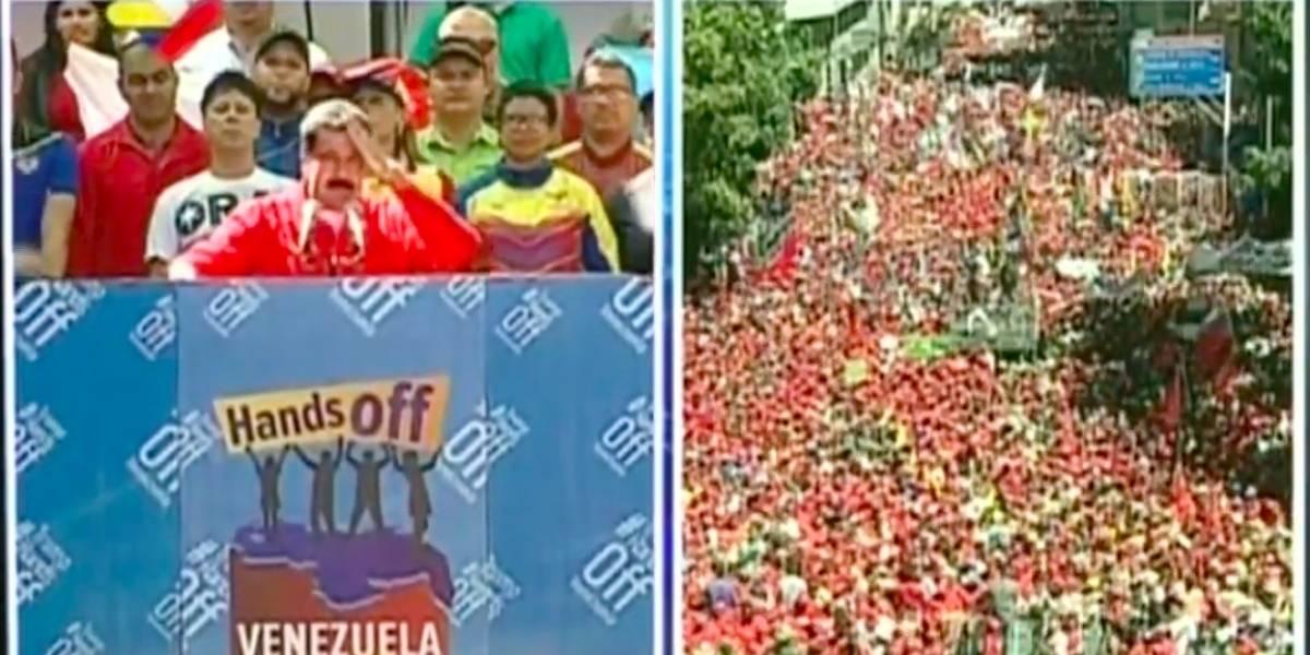 EN VIVO: Todo lo que está sucediendo entre seguidores de Nicolás Maduro y Juan Guaidó