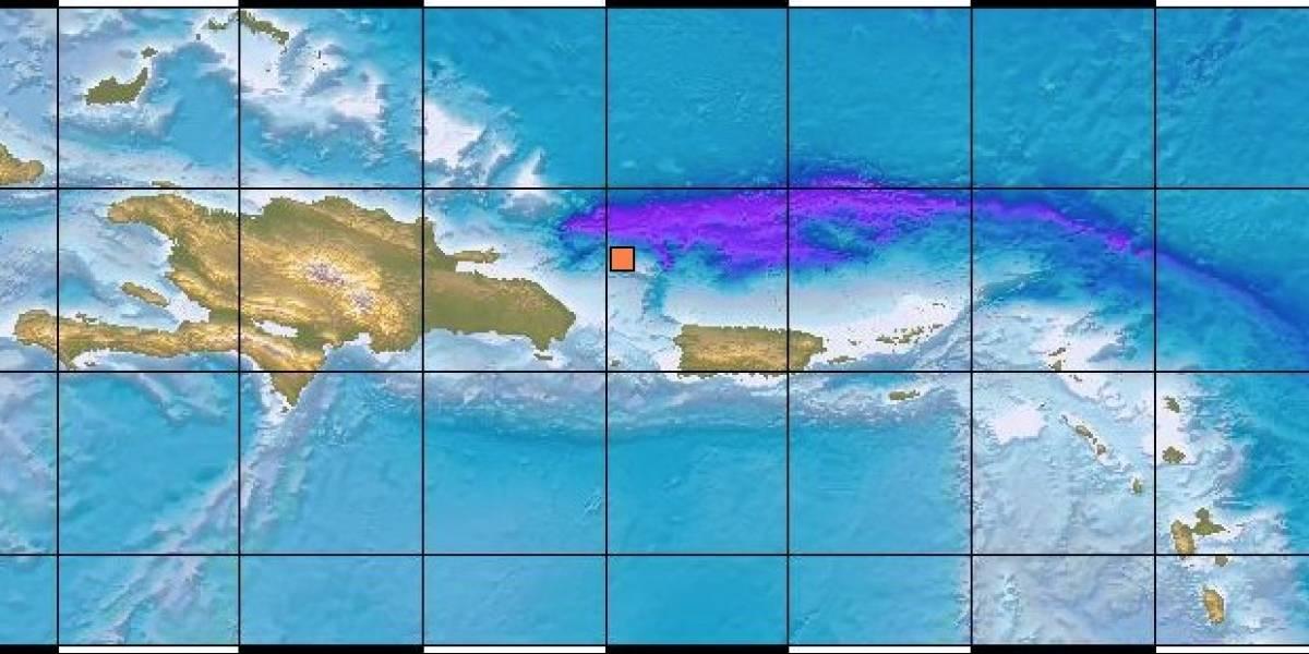 Registran temblor al noroeste de Puerto Rico