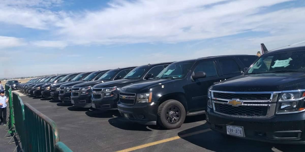 SAE anuncia subasta de vehículos en Los Pinos