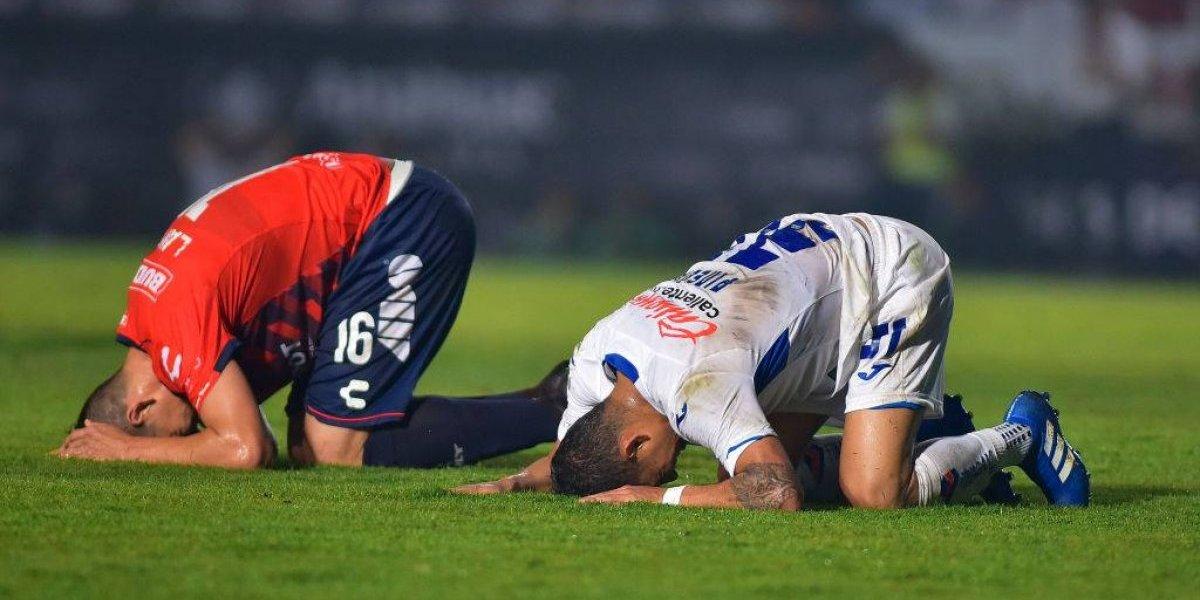 Veracruz y Cruz Azul firman empate en el Puerto