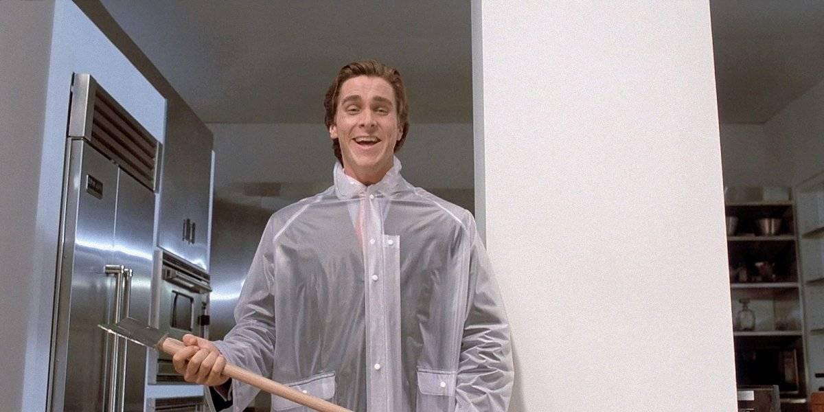 Em Psicopata Americano (2000), Bale desponta como um dos galãs de Hollywood Divulgação