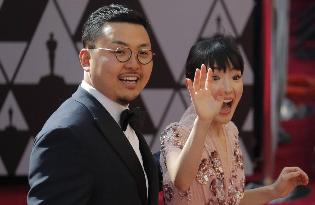 Marie Kondo e o marido Takumi Kawahara REUTERS/Lucas Jackson