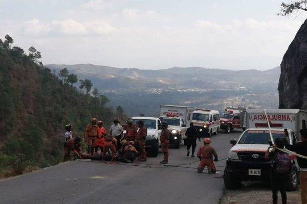 Accidente en Chiantla, Huehuetenango