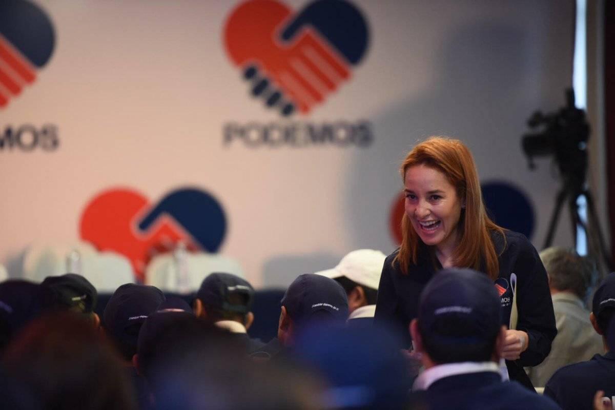 Alejandra Carrillo llegó al Congreso de la mano del cancelado PP. Foto: Edwin Bercián