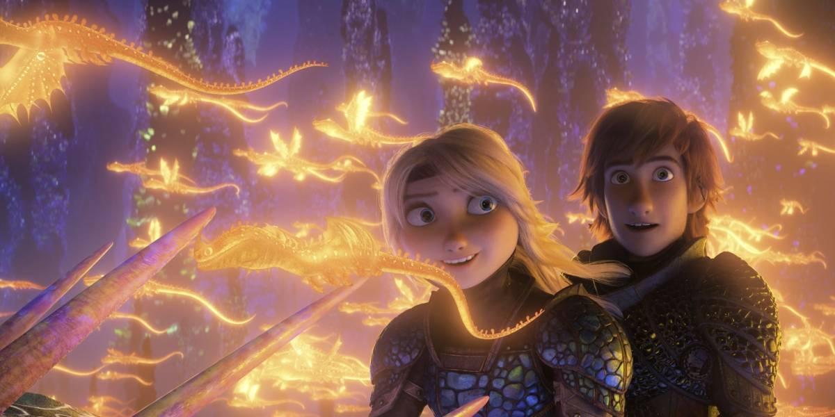 'How to Train your Dragon' vuelve a dominar la taquilla en los cines