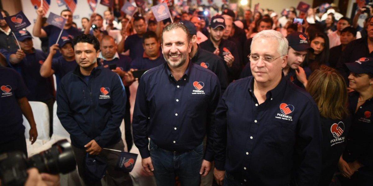 Roberto Arzú y José Farías, la apuesta política de Podemos