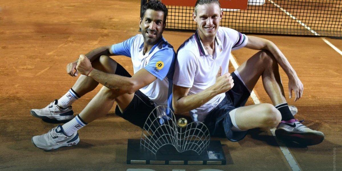 Nicolás Jarry es campeón de dobles del ATP 500 de Río y es el nuevo número uno de Chile en binomios