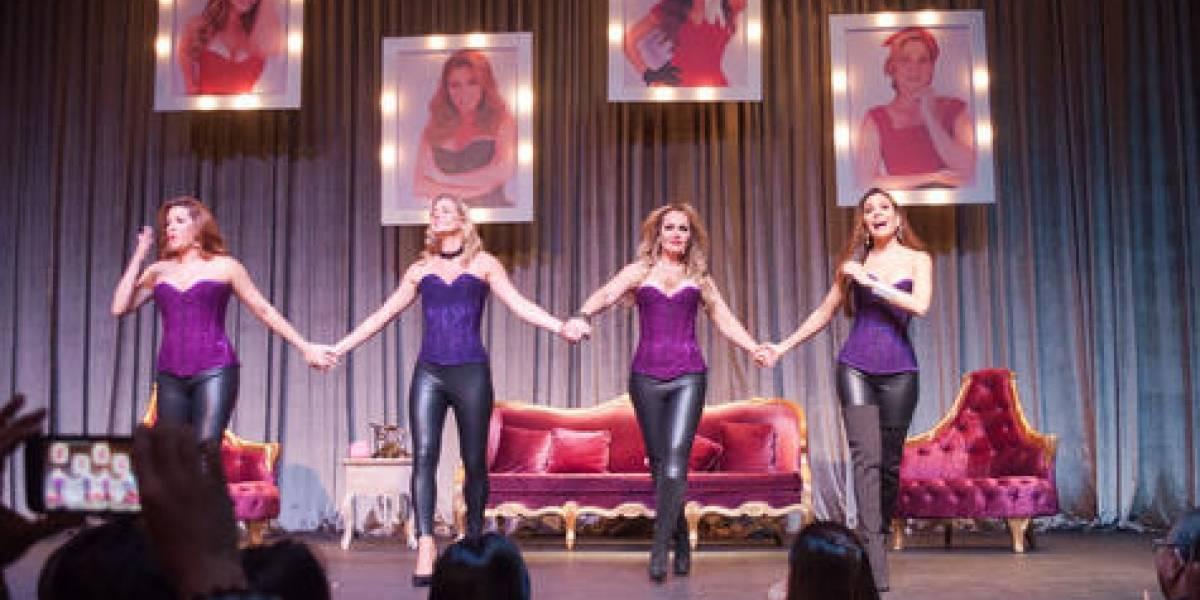 """Gaby, Patty, Sonya y Alicia presentan obra """"Divinas"""" con éxito"""