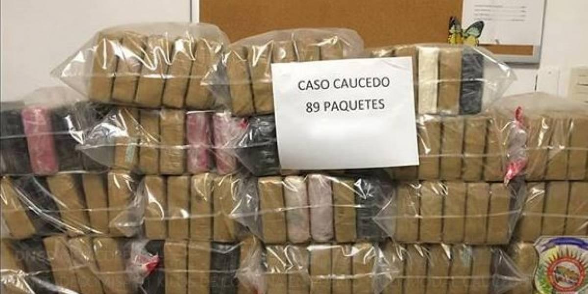 DNCD decomisa 91 kilos de cocaína en Puerto Multimodal Caucedo