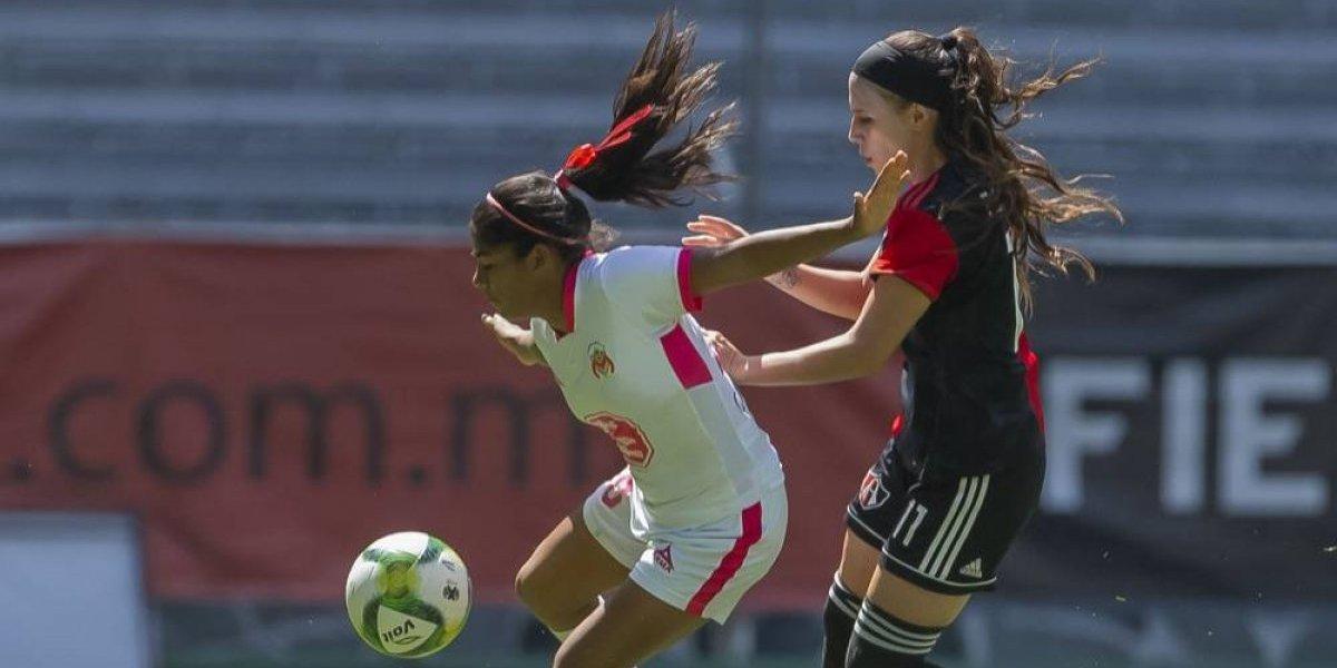 Atlas femenil mantiene el buen paso con gol olímpico
