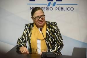 María Consuelo Porras, fiscal general.