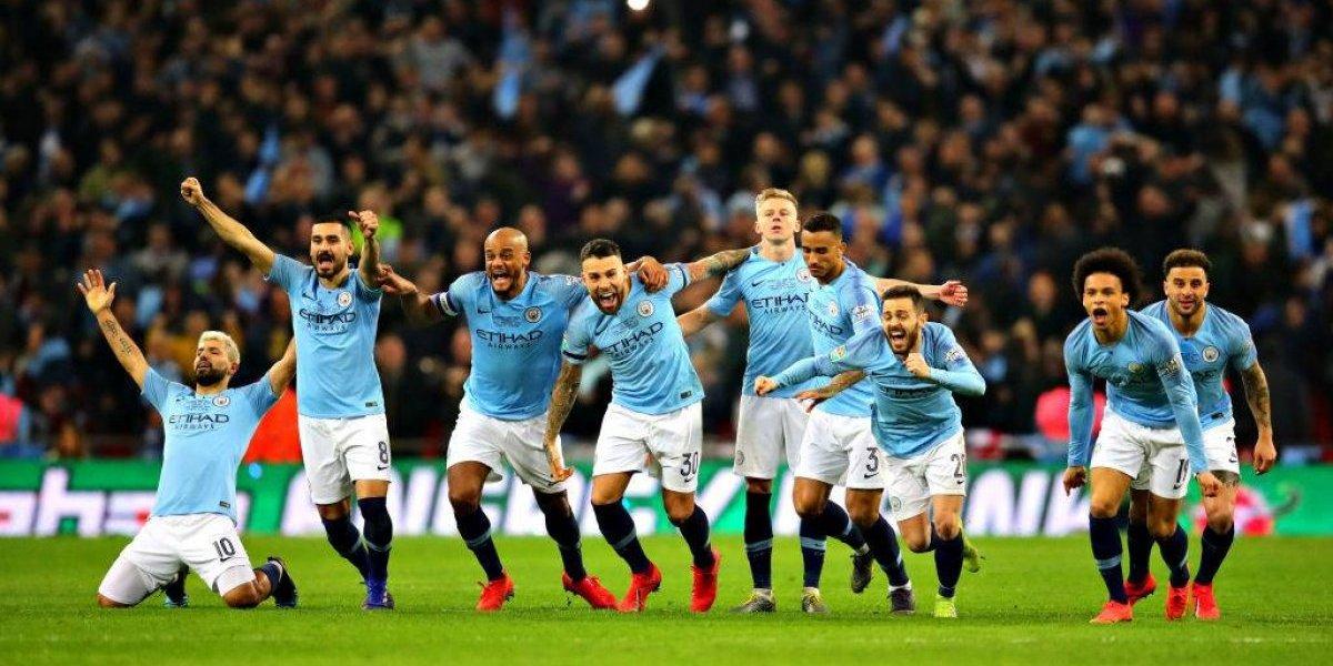 En penales el Manchester City se quedó con la Copa de la Liga inglesa en duro encuentro ante el Chelsea