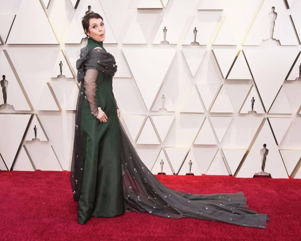 Olivia Colman Oscar 2019