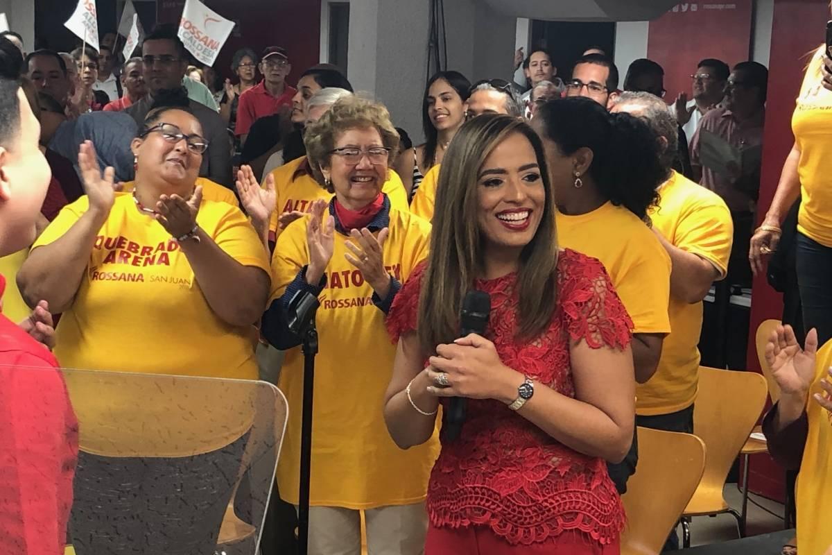 Rossana López de León oficializa que correrá para alcaldía de San Juan