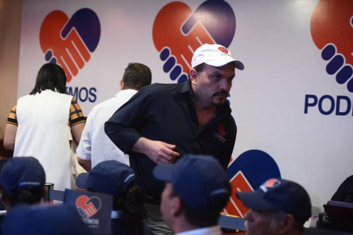 José Alejandro de León fue diputado de Lider. Foto: Edwin Bercián