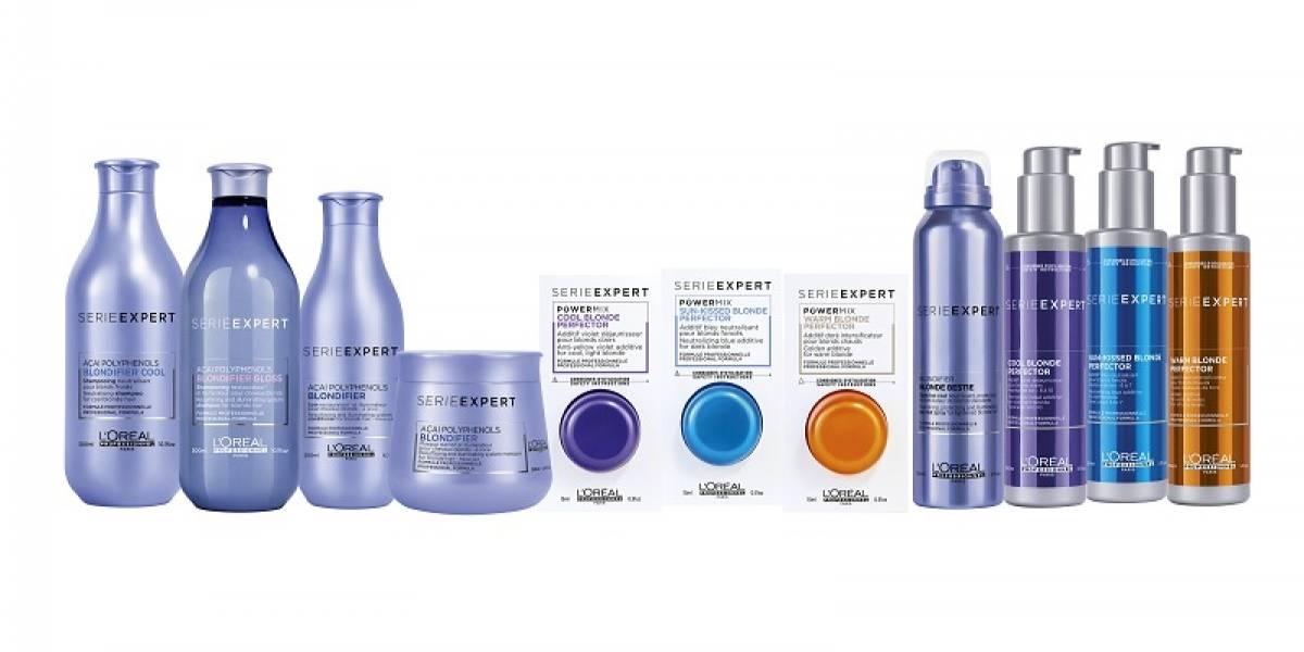 Blondifier nueva línea de L´Oreal línea especializada para pelo rubio