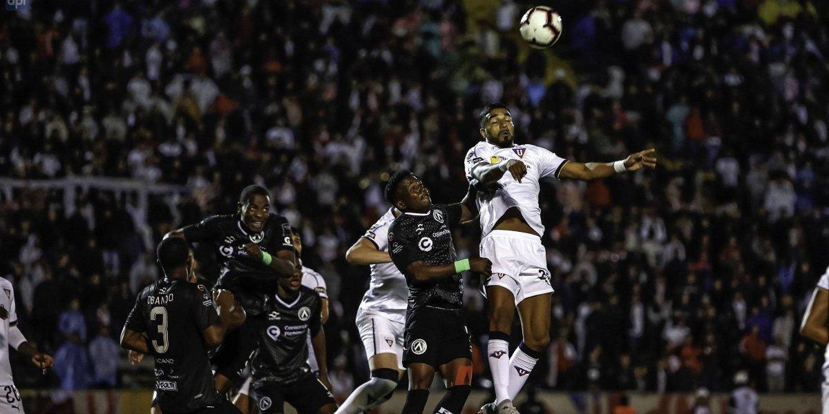 Liga pro Ecuador: LDU triunfa sobre los cebollitas