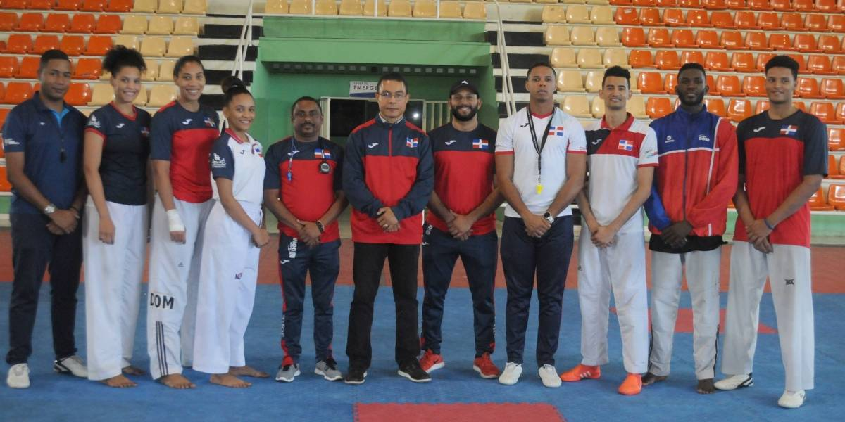 RD ya piensa en el clasificatorio Panamericano de Taekwondo