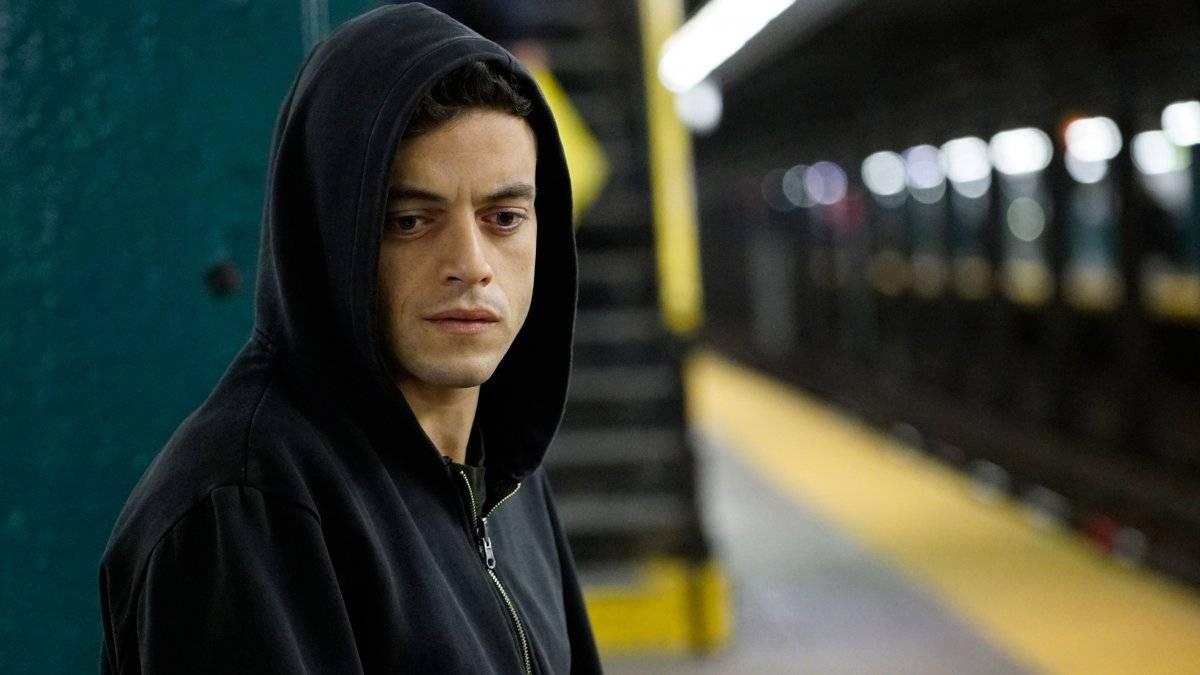 Seu primeiro protagonista veio, finalmente, com Mr. Robot (desde 2015), onde interpreta o hacker Elliot Divulgação