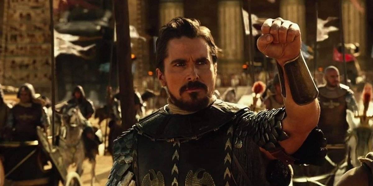 Em Êxodo: Deuses e Reis, Christian Bale é Moisés, personagem bíblico que lidera os hebreus para fora do Egito Divulgação