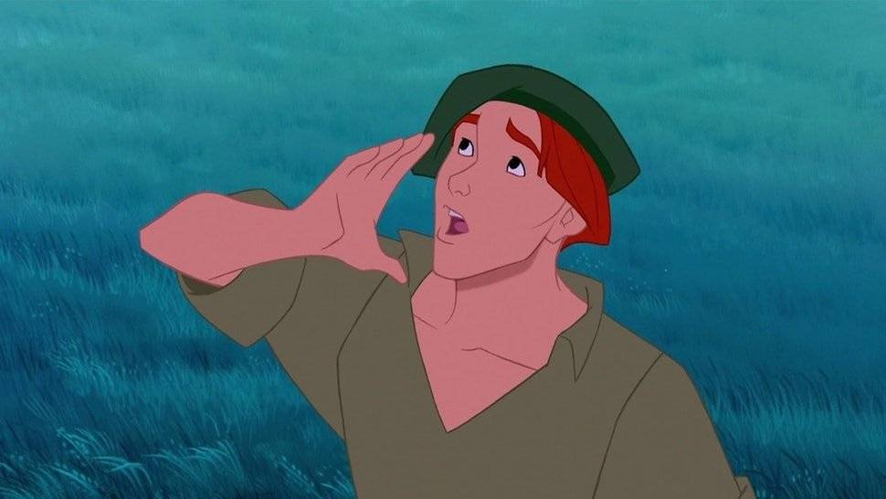 Em Pocahontas (1995), Bale cedeu a voz para Thomaz, melhor amigo de John Smith, um dos protagonistas da animação Divulgação