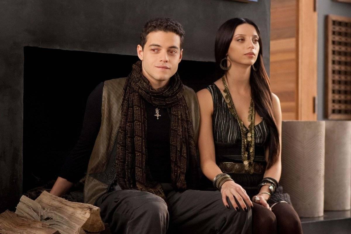 Outro papel famoso de Rami Malek foi como Benjamin, um vampiro extremamente poderoso, de A Saga Crepúsculo: Amanhecer - Parte 2 (2012) Divulgação