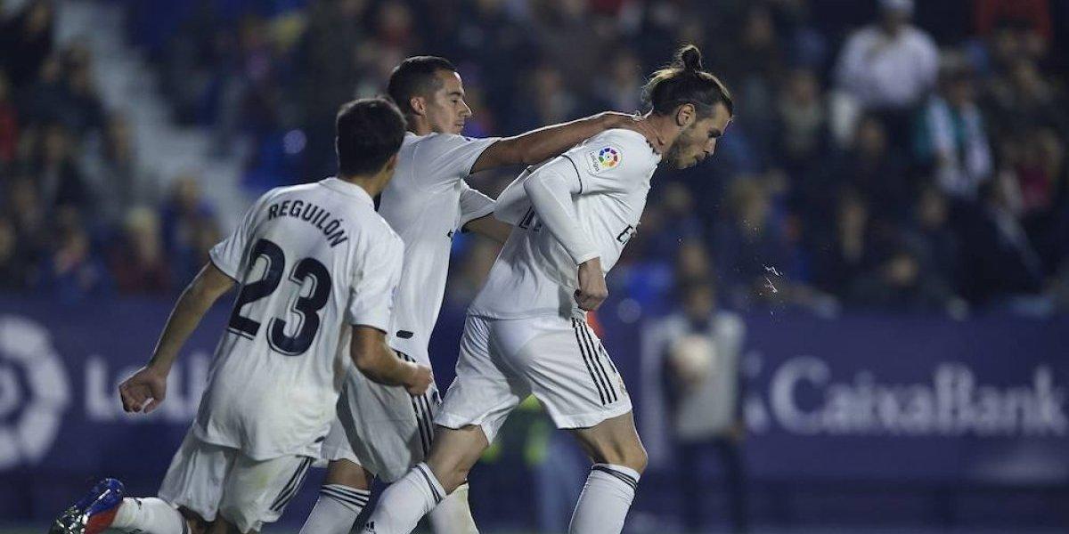 VAR da triunfo al Real Madrid sobre el Levante