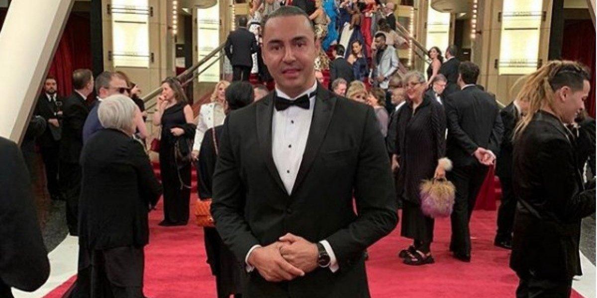 Latin Lover no se quiso perder los Oscar y adquirió boleto de ¡2,250 dólares!