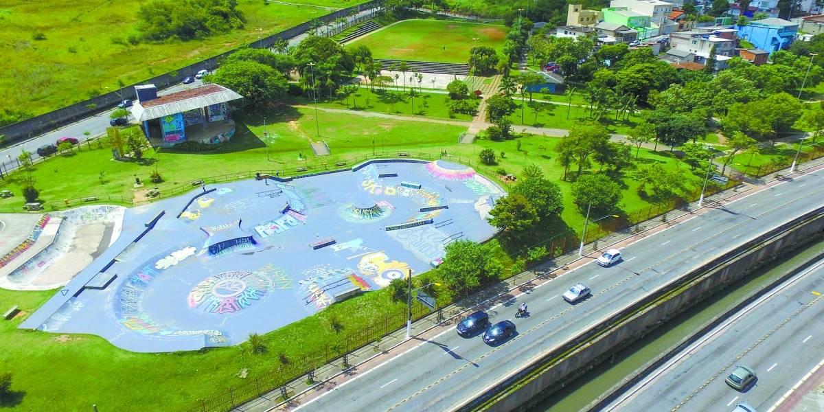 Parque de Santo André será destruído e reconstruído sobre piscinão