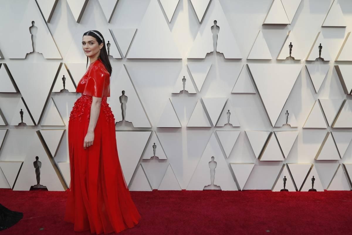 Mais um ângulo do vestido de Rachel Weisz Reuters