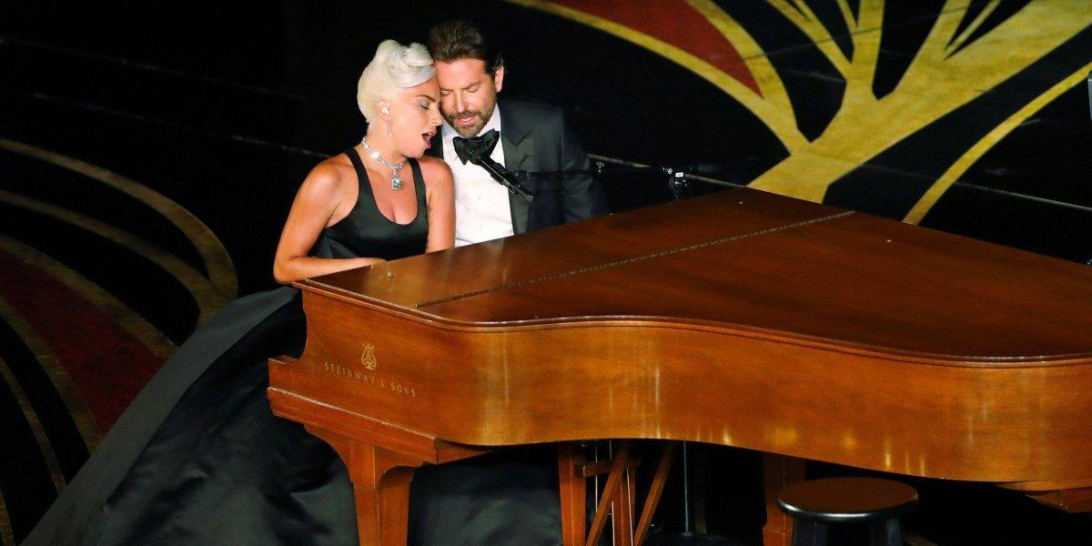 A reação de Irina Shayk durante a apresentação de Lady Gaga e Bradley Cooper no Oscar