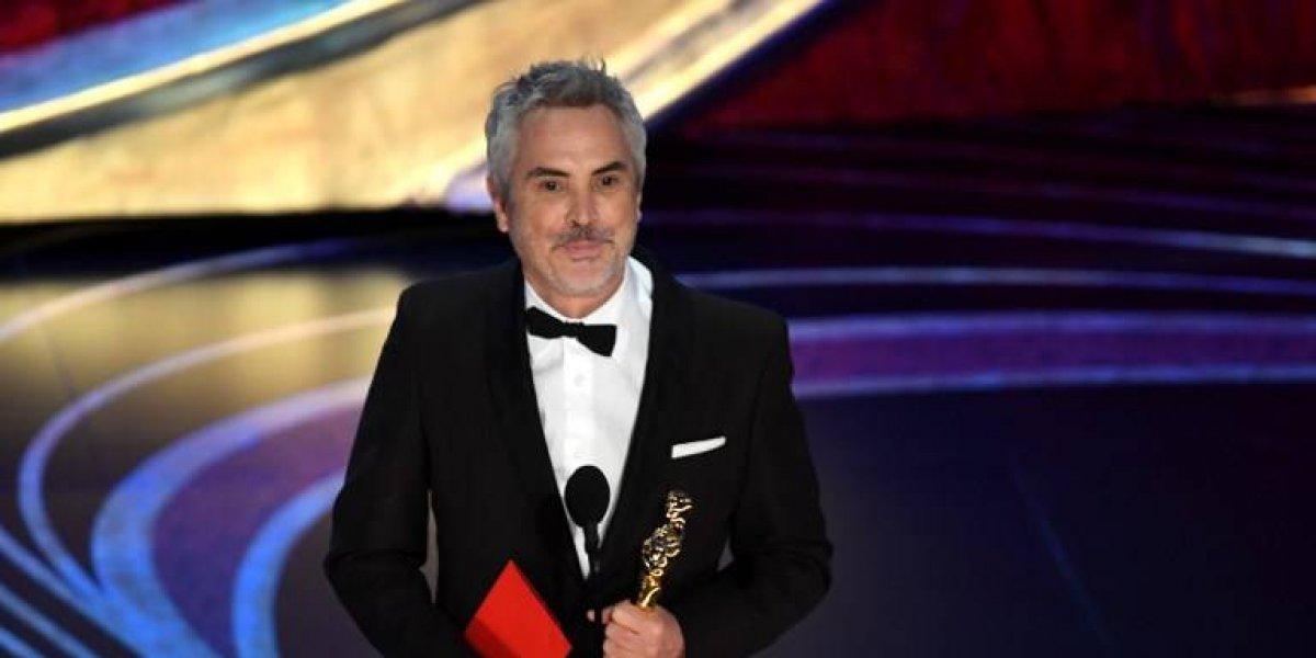 """Mexicanos celebran los premios Oscar que lleva Alfonso Cuarón gracias a """"Roma"""""""