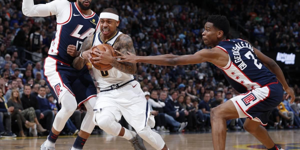 Cómodo triunfo de los Nuggets sobre los Clippers