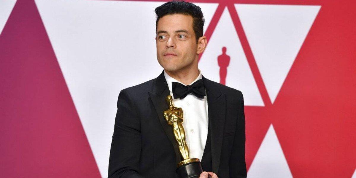 Rami Malek fue atendido por médicos tras sufrir caída al recibir Oscar
