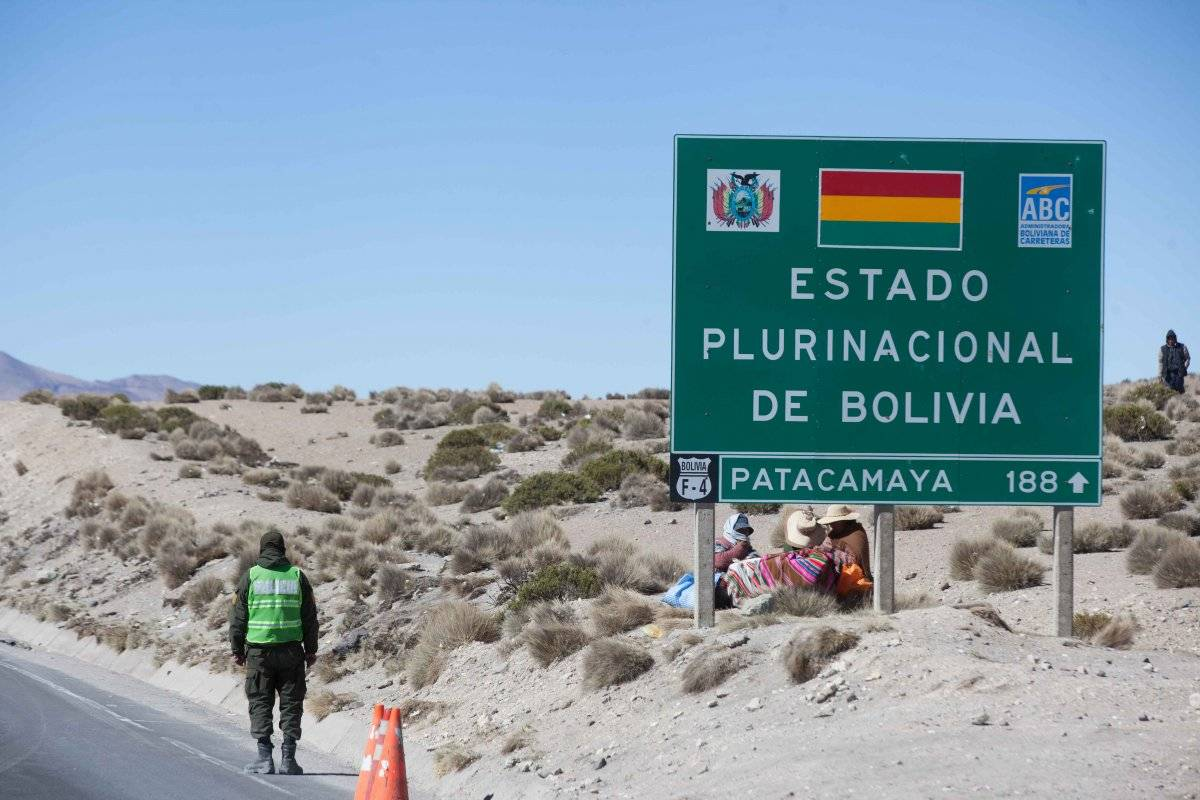 Frontera Bolivia Chile Cangri