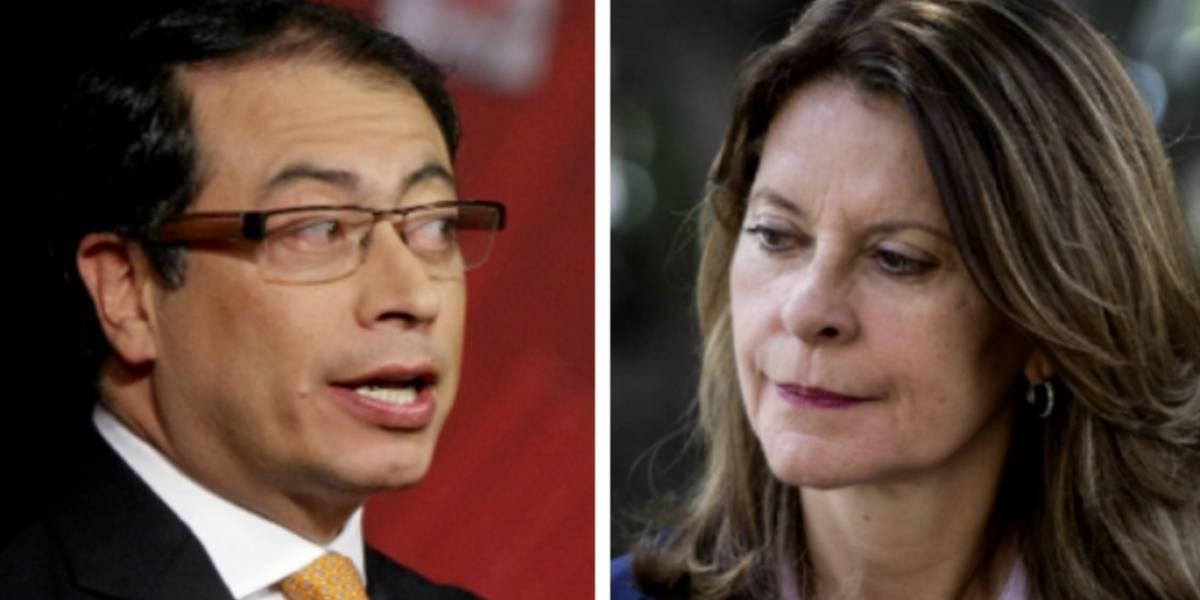 Vicepresidenta y senador Petro se encontrarán en las cortes por tuit de Operación Orión