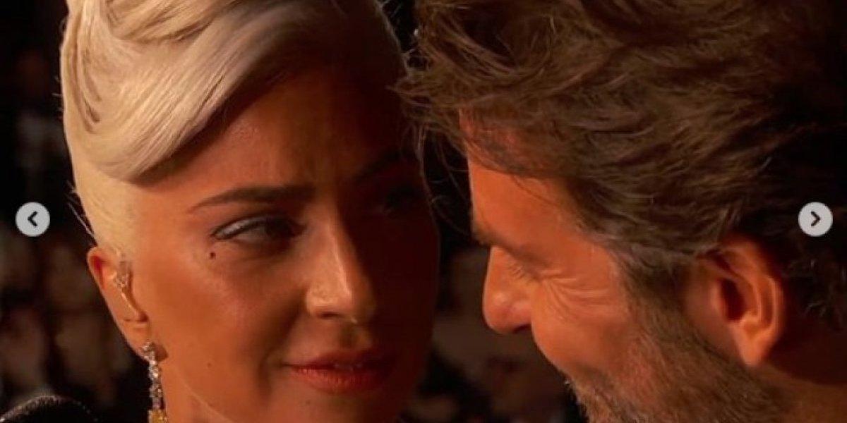 ¿Qué hizo Irina Shayk cuando vio cantar a Bradley Cooper y Lady Gaga?